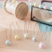 Set Of Three Pastel Bridesmaid Hair Pins