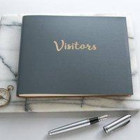 Bold Visitors Book, Red/Cobalt Blue/Blue