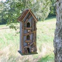 Personalised Cottage Bird House Garden Gift