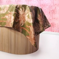 Sunset Palms Oilcloth Tablecloth