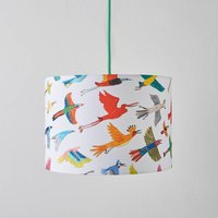 Colourful Birds Lampshade