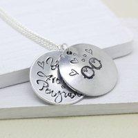 'You Are My Penguin' Secret Message Necklace