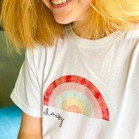 Personalised Rainbow T Shirt