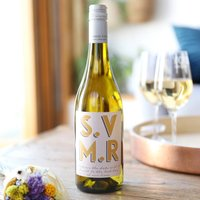 Personalised 'Until The Day We Say I Do' Bottle Of Wine