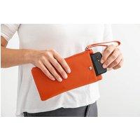 Personalised Orange Clutch Bag