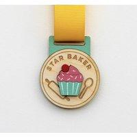 Wooden Star Baker Medal
