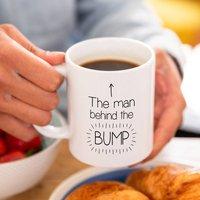 Dad To Be 'Man Behind The Bump' Mug