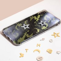 Customised Green Camo Talisman Case For iPhone
