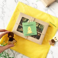 Personalised Novelty Chocolate Duck Gift Box