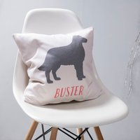 Personalised Pet Cushion, Mint/Coral/Lilac