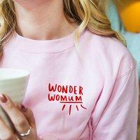'Wonder Womum' Wonder Woman Mum Sweatshirt Jumper
