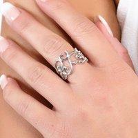 Elements Swirl Ring