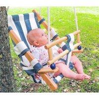 Wooden Nautical Baby Swing