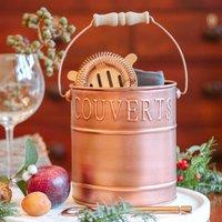 Vintage Copper Cocktail Bucket