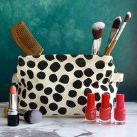 Black And White Spot Storage Basket