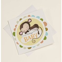 New Baby Christening Greetings Card