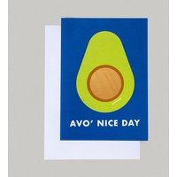 Scratch And Smile Funny Avocado Pun Card