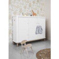Tall Curved Scandinavian Dresser