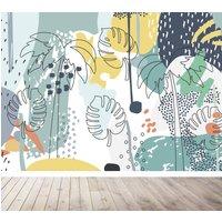 Tropical Splash Wallpaper Mural