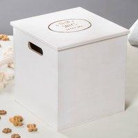 Personalised Wooden Dog Treat Box