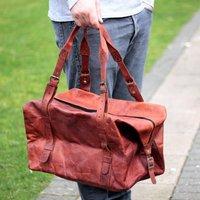 Leather Vintage Weekend Bag