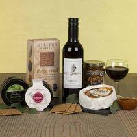 The Wine And Cheese Slate Gift Hamper