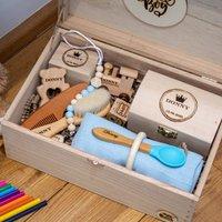 Luxury Personalised Keepsake Baby Gift Box
