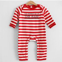 You Remind Me Of The Babe Stripy Romper