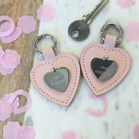 Hers And Hers Personalised Keyring Set