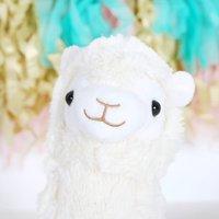 Plush Children's Llama Cuddly Toy, Choice Of Sizes