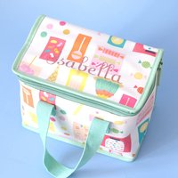 Personalised Kids Candy Lunch Bag