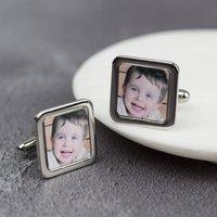 Personalised Square Photo Cufflinks
