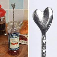 Heart Jam Jar Spoon, Anniversary Gifts, Love Spoons