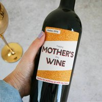 Personalised Mothers Day Wine Gift