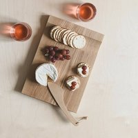 Wooden Biscuit Serving + Chopping Board