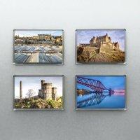 Edinburgh Magnets Set Of Four