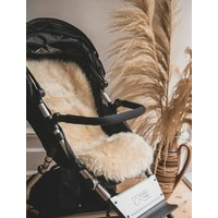 Baa Baby Buggy Style Sheepskin Pram Liner Honey Long