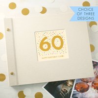 Personalised 60th Birthday Photo Album