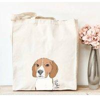 Personalised Beagle Tote