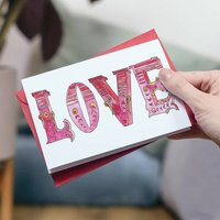 Circus Font Valentine's Card