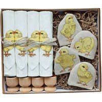 Luxury Embroidered Little Chick Gift Set