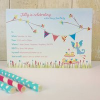 16 Fairy Tea Party Invitations Or Thank You Cards