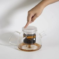 Teaspec Lazy Pour, 900ml Glass Teapot With Infuser