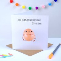 Sorry You're Feeling Fragile Greeting Card