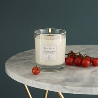 Personalised Green Tomato Luxury Soy Candle Gift