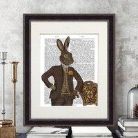 The Dapper Hare, Book Print