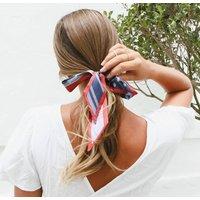 Head Tie, Bag Tie Or Wrist Scarf