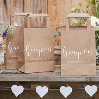 Hangover Kit Paper Bags, Alternative Wedding Favours