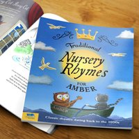 Personalised Book Of Traditional Nursery Rhymes