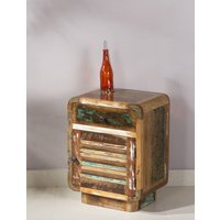Iringa Reclaimed Wood Bedside Unit